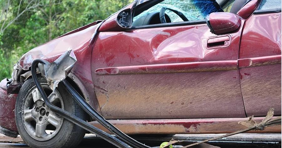 autonehoda vrak