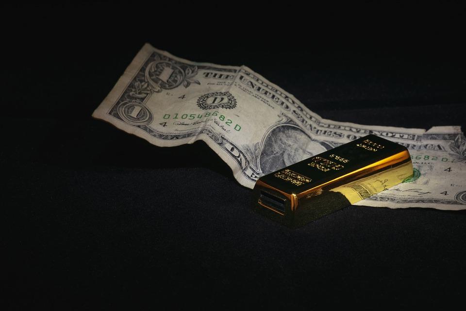 dolary a zlato