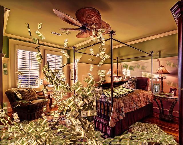 místonost peněz